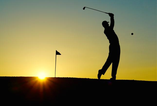 Golf zalazak